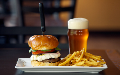 Burger, Beer & Fries