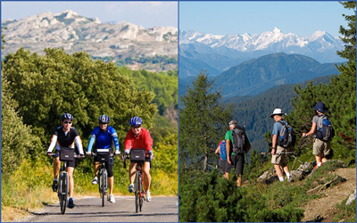 Cycling and Hiking Tours