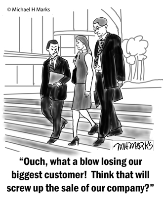 Losing Our Biggest Customer