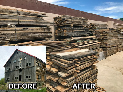 Repurposed Timber Business For Sale